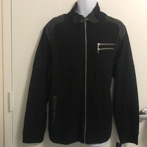 INC MENS Black Casual Jacket 3XL